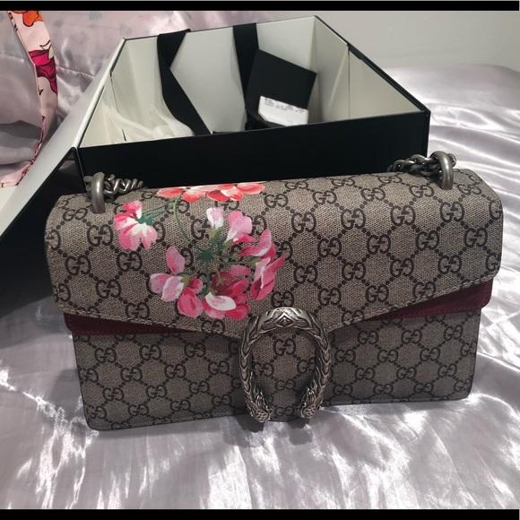 29f37fd69 Gucci Bags | Dionysus Small Gg Blooms Shoulder Bag | Poshmark